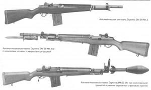 Автоматическая винтовка Беретта BM 59