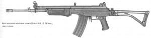 Автоматическая винтовка Галил AR (5,56 мм), вид слева