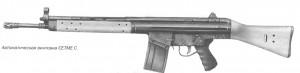 Автоматическая винтовка CETME C