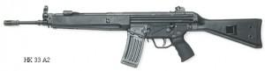 Автоматические винтовки HK 33 А2