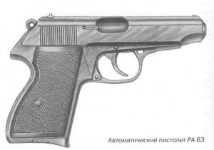 Автоматические пистолет PA 63