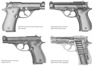 Автоматический пистолет Беретта 81