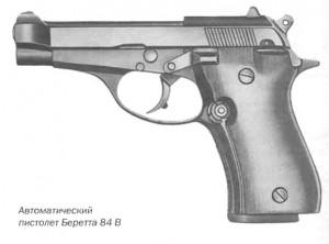 Автоматический пистолет Беретта 84 B