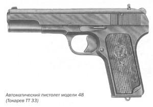 Автоматический пистолет модели 48 (Токарев ТТ 33)