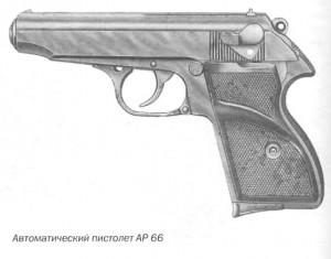 Автоматический пистолет AP 66