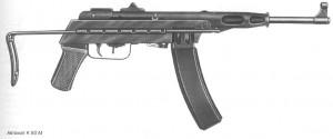 Автоматы модели К 50 М, калибр 7,62 мм