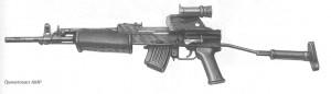Гранатомет AMP калибр 7,62 мм