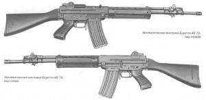 Автоматическая винтовка Беретта AR 70