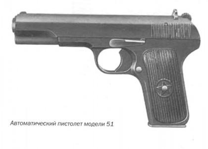 Автоматический пистолет модели 51