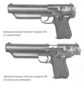 Автоматический пистолет модели 64