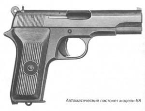 Автоматический пистолет модели 68