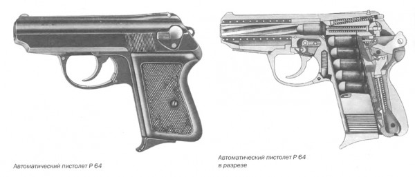 Автоматический пистолет P 64