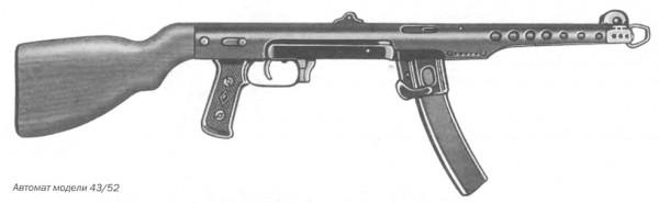 Автомат модели 43/52