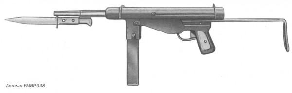 Автомат FMBP 948, калибр 9 мм