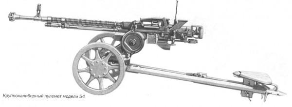Крупнокалиберный пулемет модели 54