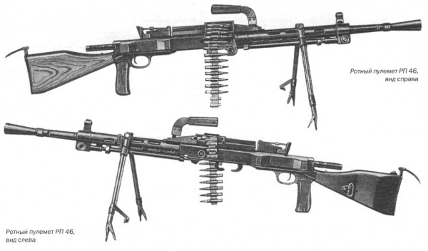Ротный пулемет РП 46, калибр 7,62 мм