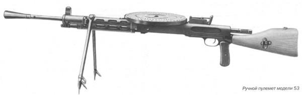 Ручной пулемет модели 53