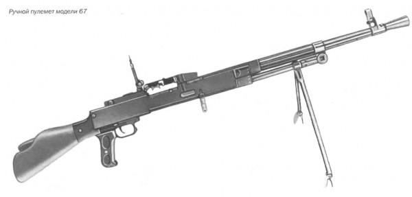 Ручной пулемет модели 67