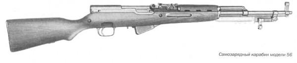 Самозарядный карабин модели 56
