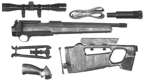 Малокалиберная снайперская винтовка СВ-99